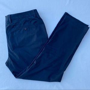 Bonobos Stretch Italian Trousers Navy Slim 36 30